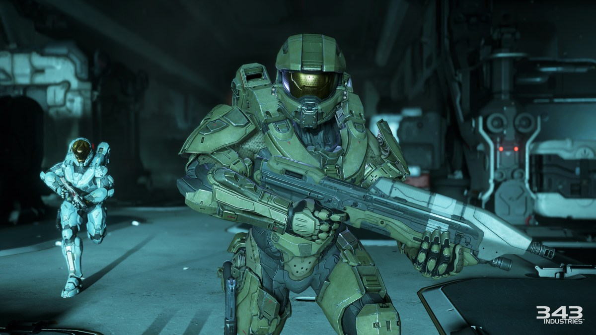 H5 Guardians Campaign Blue Team Rush - Image by 343Industries