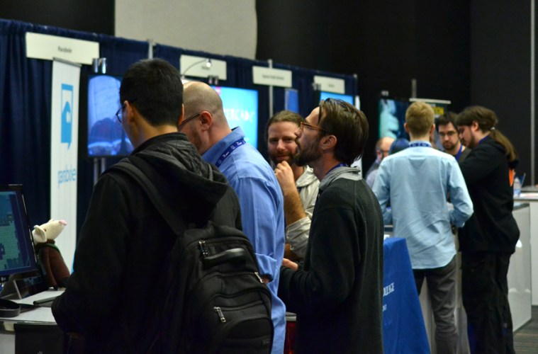 The MIGS14 Expo Zone.