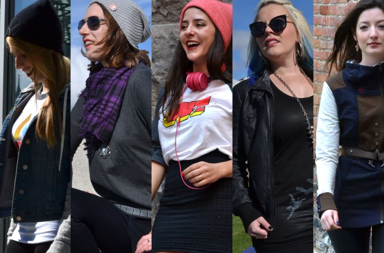 Fall Geeky Outfits with Girls on Games and Ubi Workshop