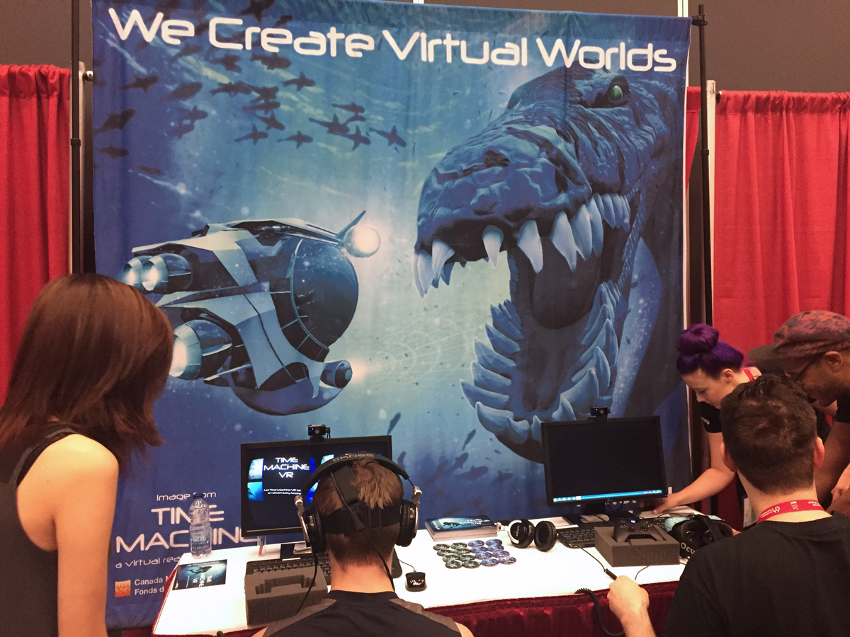 Minority Media Booth at MIGS15
