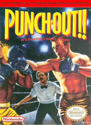 Punch-Out!! box art