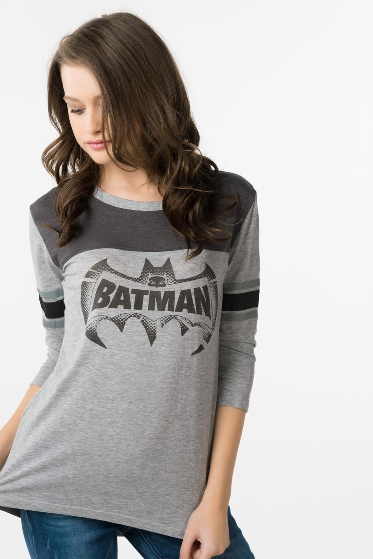 Grey Batman Shirt