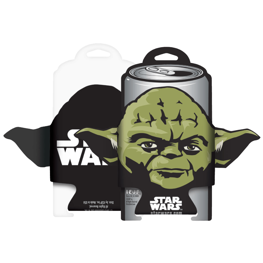 Yoda Diecut Can Cooler