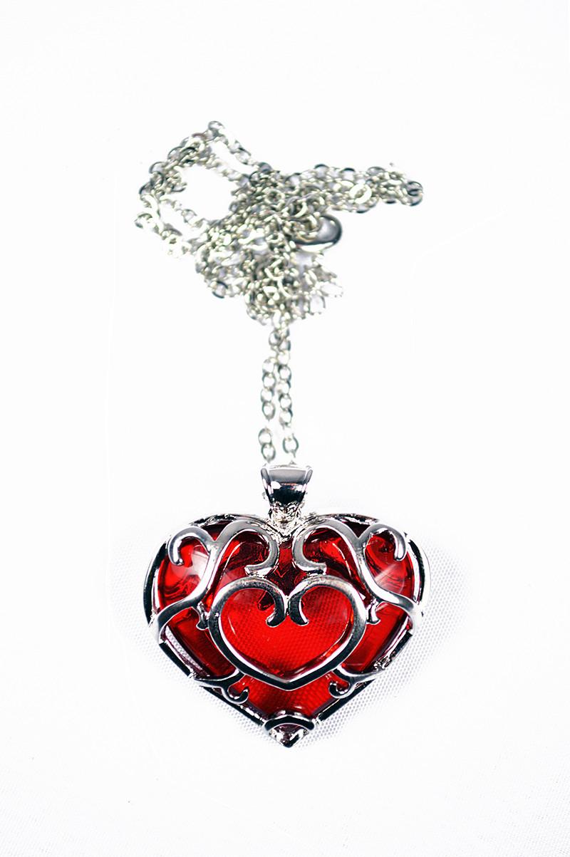 Platinum Skyward Heart