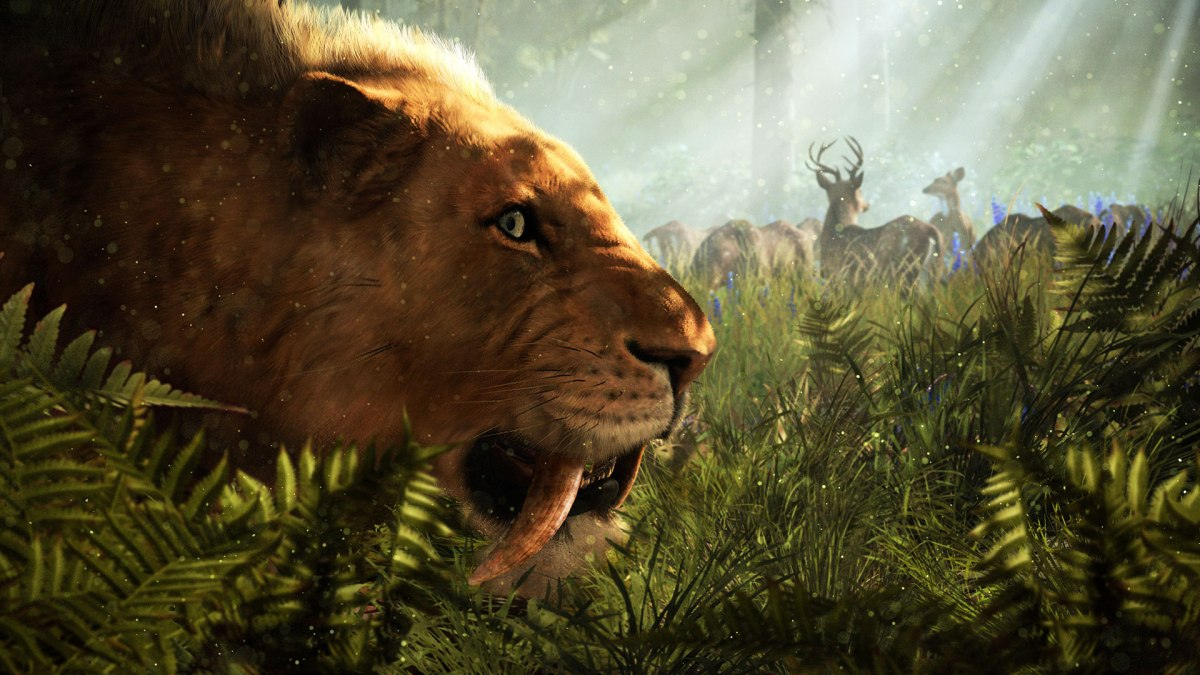 Far Cry Primal - Saber-tooth Tiger - From Ubisoft