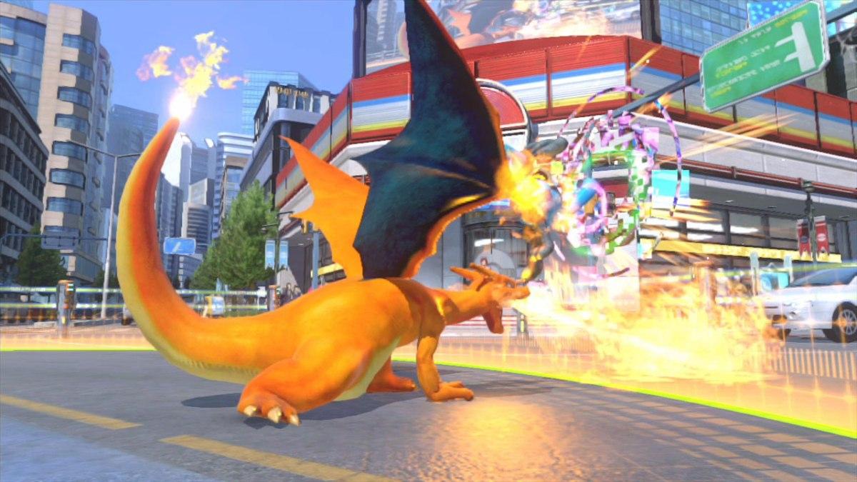Charizard fire-blast (image from Nintendo)