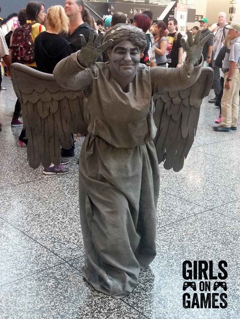 Weeping Angel Cosplay