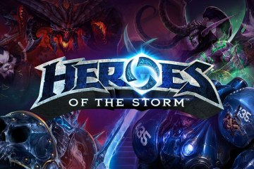 Heroes of the Storm official art