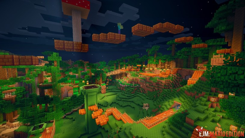 Super Minecraft Bros