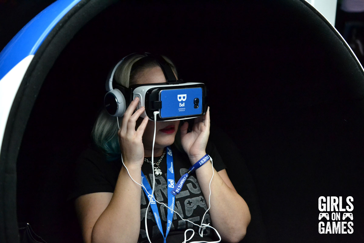 VR at Dreamhack Montreal 2016