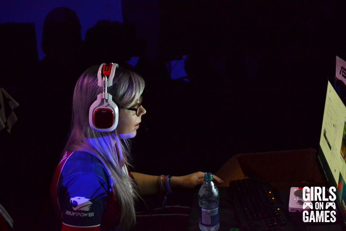 Miss Harvey at Dreamhack Montreal