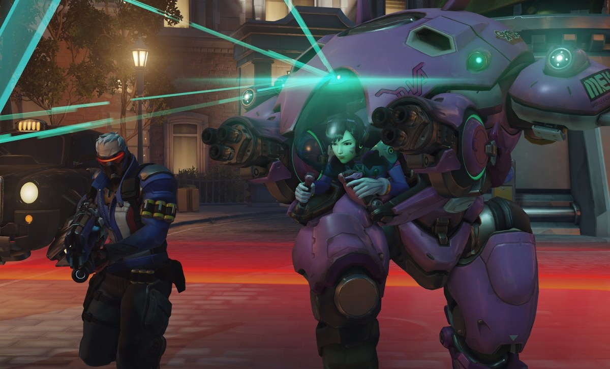 Soldier 76 and D.Va (Blizzard, 2016)