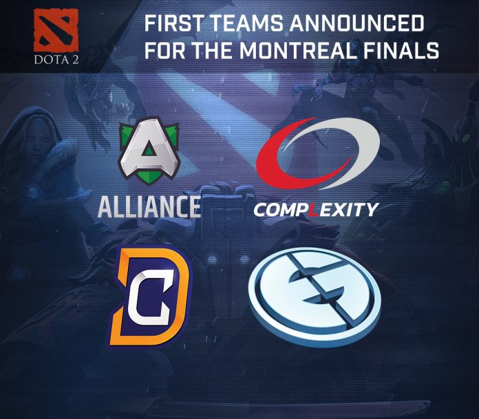 First 4 Teams Invited to Northern Arena DOTA 2 BEAT Invitational Montreal 2016: Evil Geniuses, Digital Chaos, Alliance and compLexity