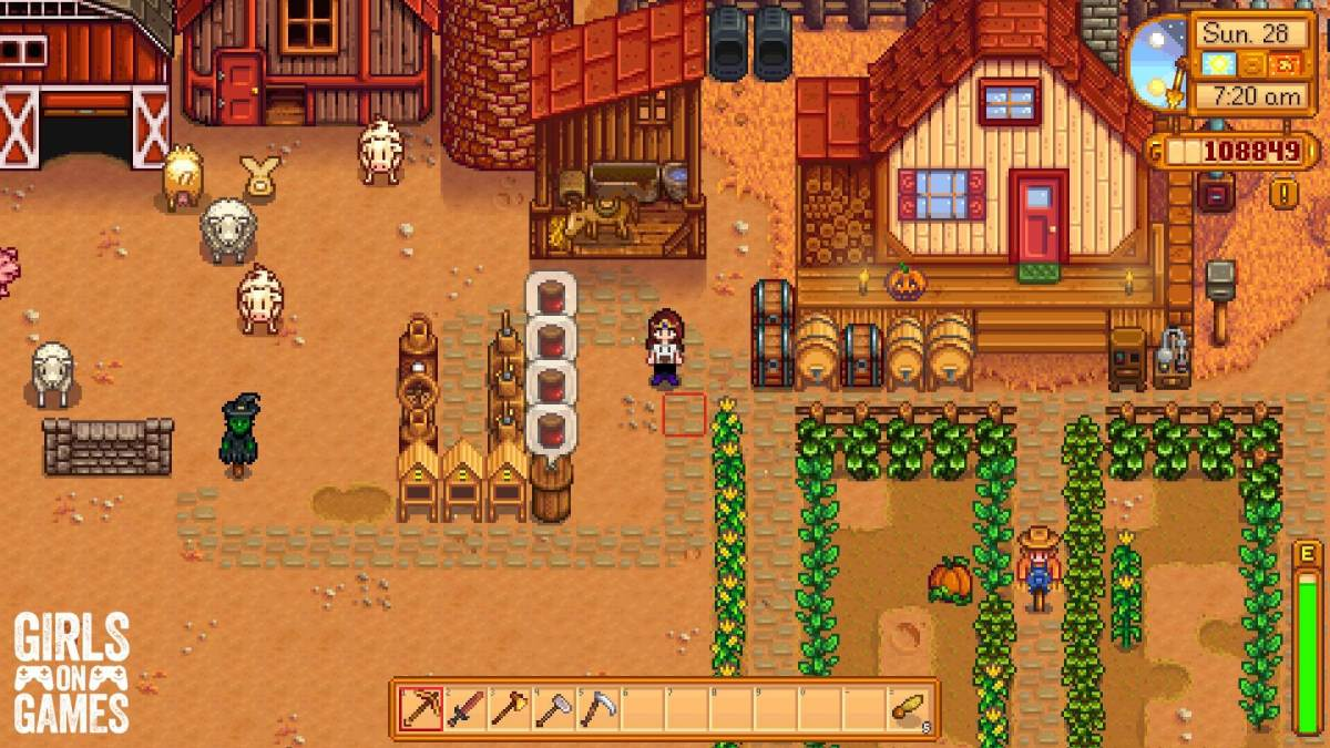 My first farm in Stardew Valley