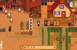 My first farm in Stardew Valley