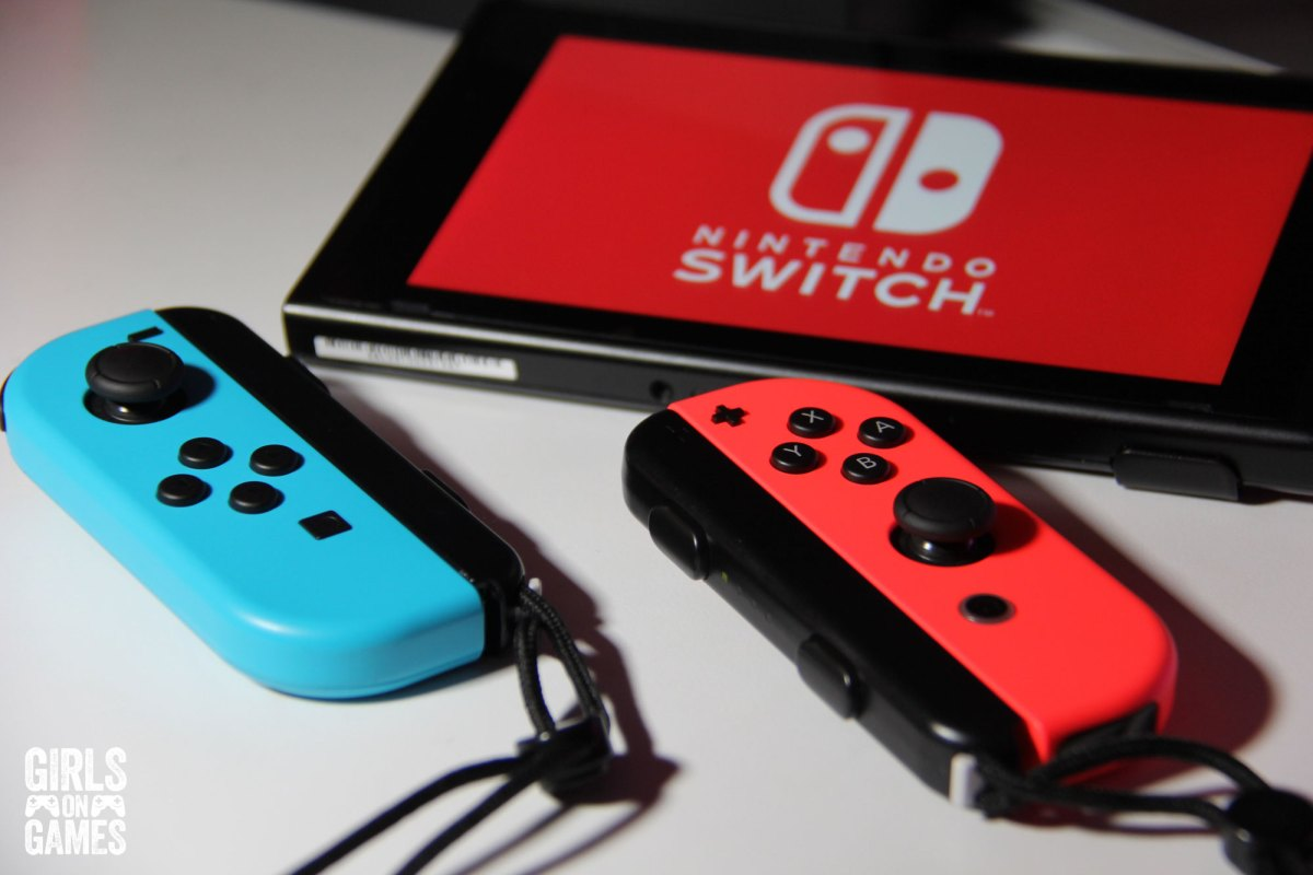 Nintendo Switch & Joy-Cons. Photo: Leah Jewer / Girls on Games