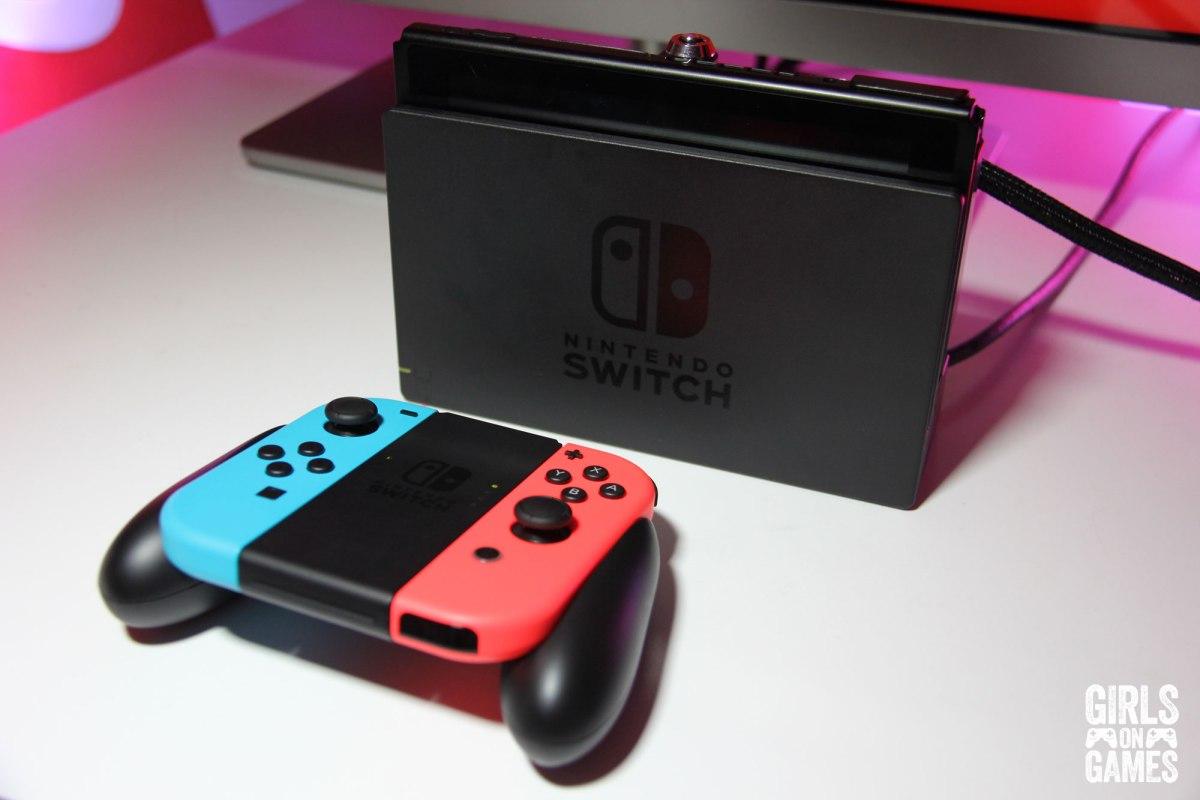Nintendo Switch. Photo: Leah Jewer / Girls on Games
