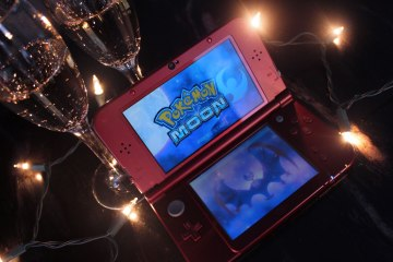 Pokemon Moon on a New Nintendo 3DS XL. Photo by Leah Jewer / Girls on Games