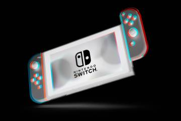 Nintendo Switch - inverted