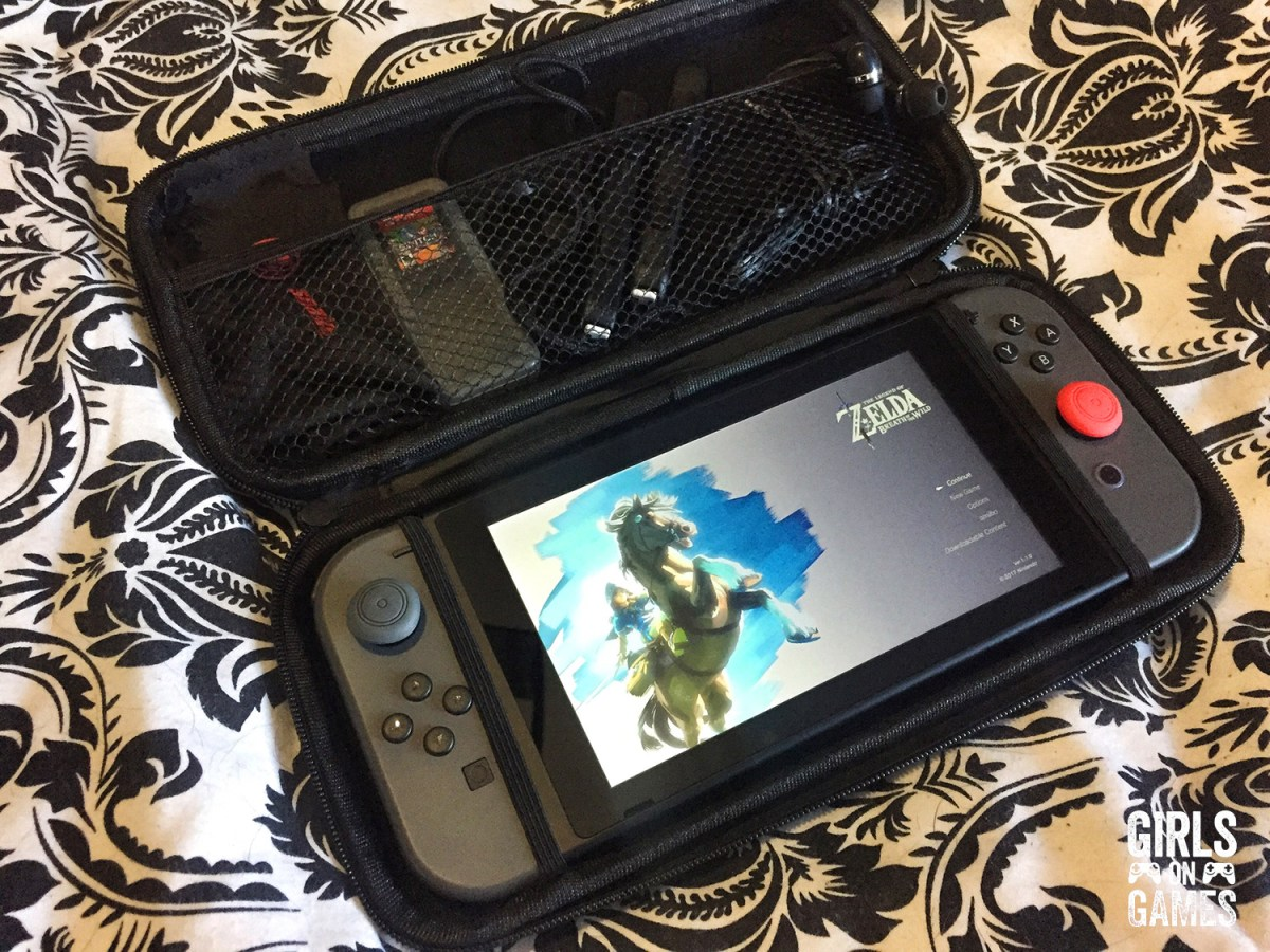Snakebyte Nintendo Switch Starter:Kit ready to go