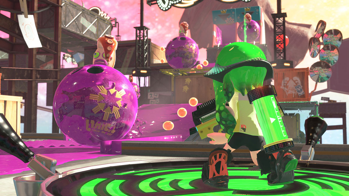 Splatoon 2 Hero Mode screenshot. From Nintendo