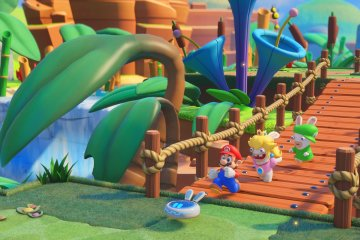 Mario + Rabbids Kingdom Battle (via Ubisoft)