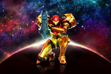 Metroid: Samus Returns Hero Art. © Nintendo