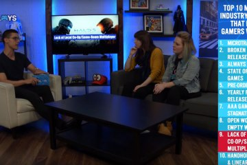 Leah and Cat on Mojo Plays' Deconstructed (via Youtube)