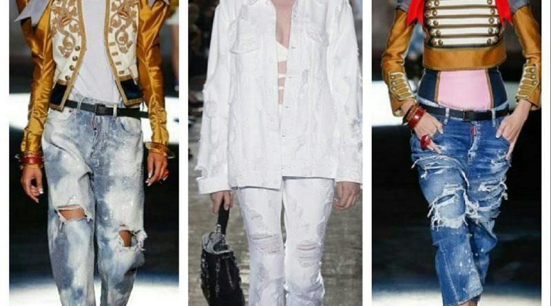 W gli anni '90! Il Jeans strappato e' piu' attuale che mai!!!