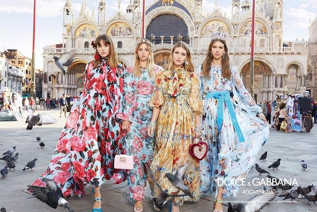 Fiori, cuori ed italianità : la nuova Collezione Primavera / Estate di Dolce & Gabbana