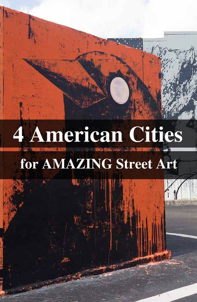 Take a street art tour of these 4 US Cities. Visit the murals of San Francisco, San Diego, LA and St. Petersburg and get a dose of US street art culture