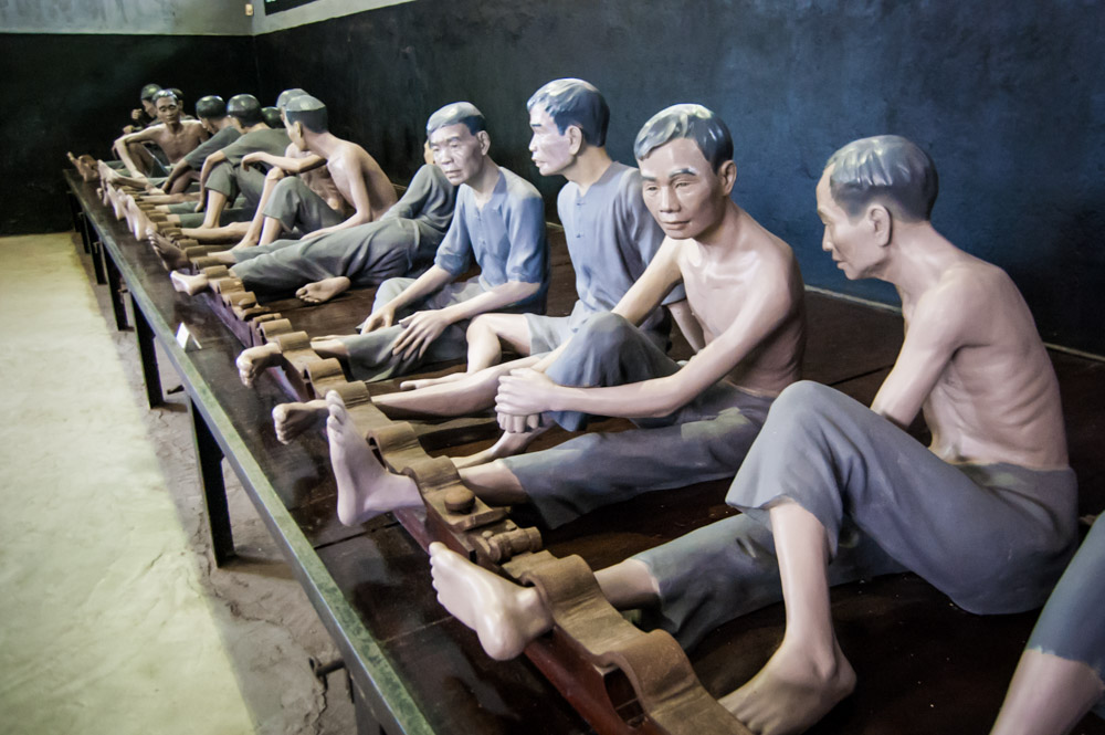 things to do in Hanoi, Hoa Lo Prison, Global Gal Sarah