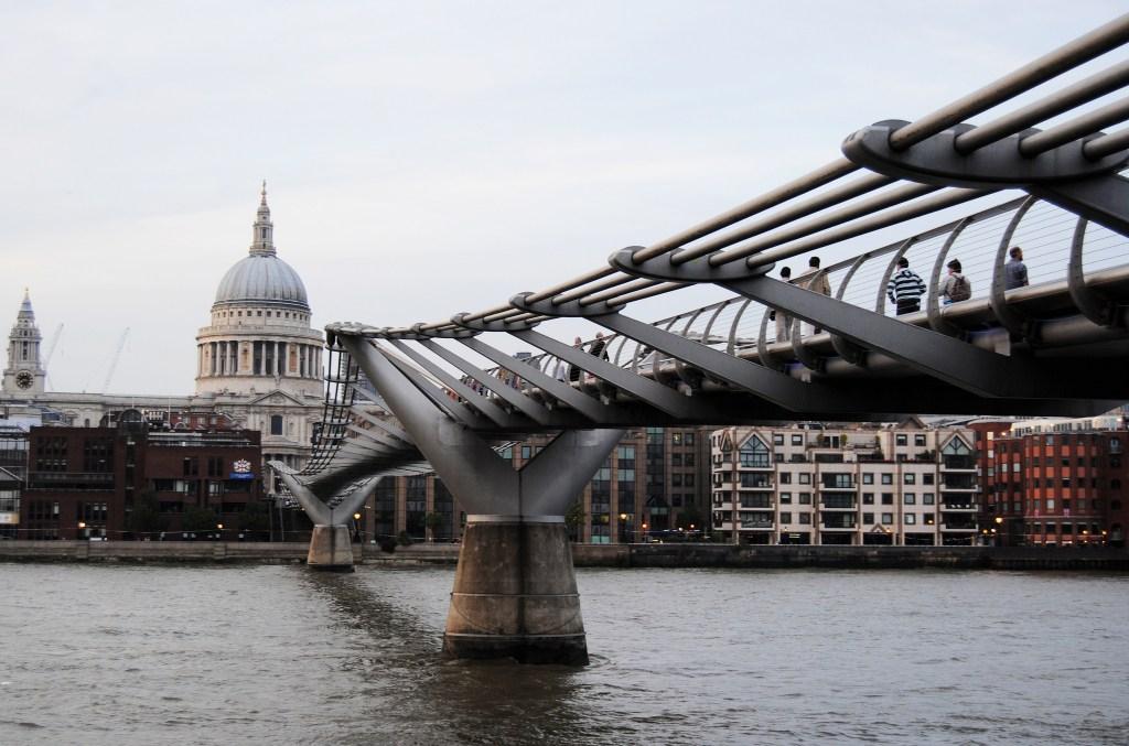 The Millenium Bridge, London