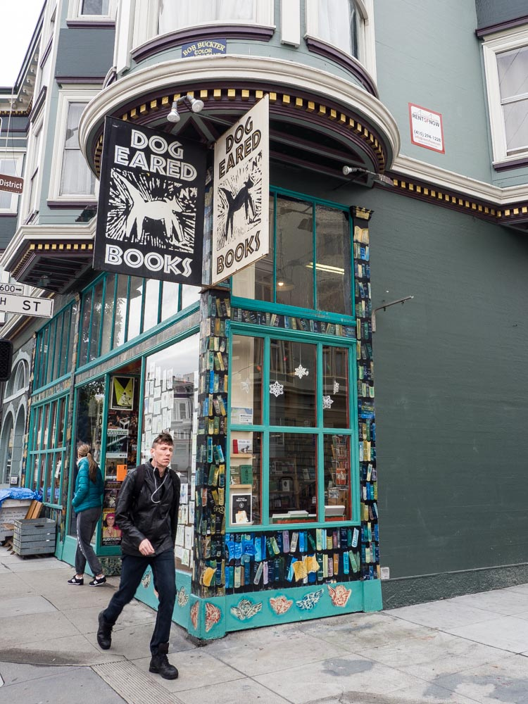 Relax in San Francisco at Dog Eared Books