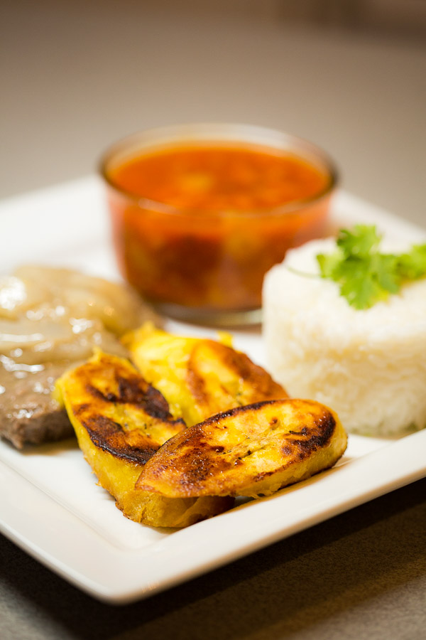 Puerto Rican Recipes: A photo of the sweet plantains
