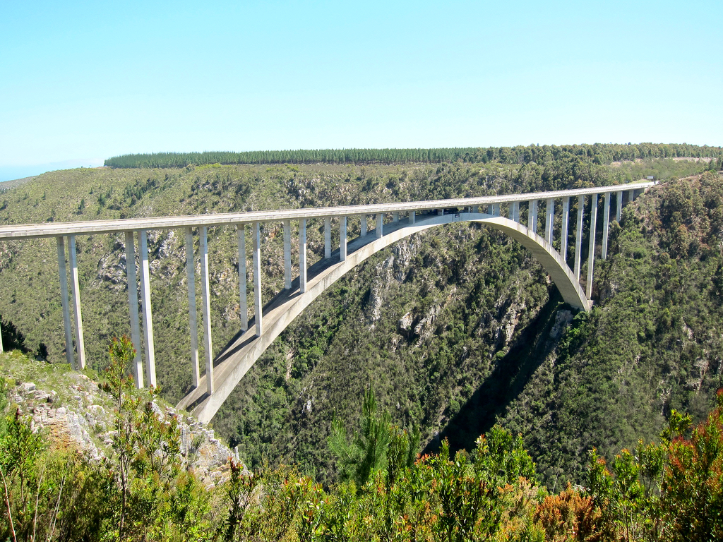 garden route bloukrans bridge south africa