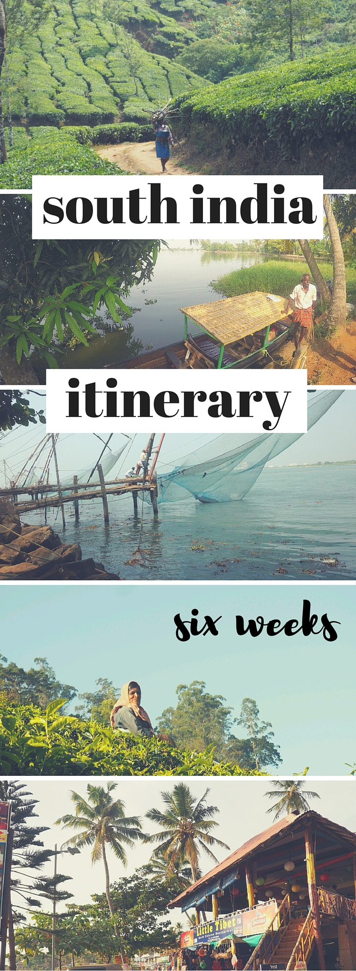 south india travel itinerary
