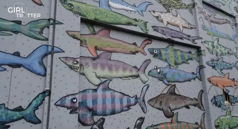 Street art à Wellington - Girltrotter