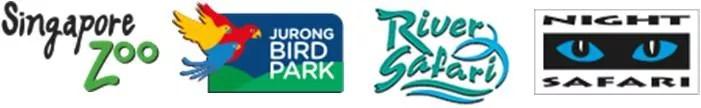 Les 4 parcs du zoo de Singapour