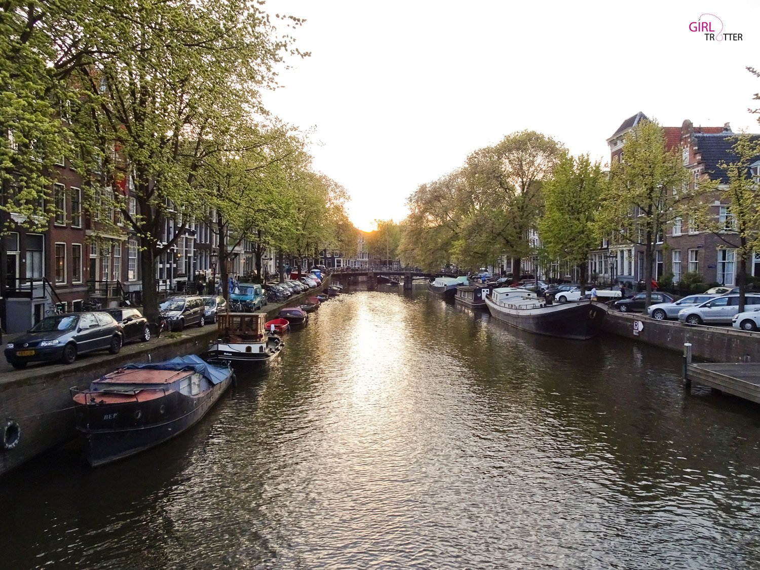 Visiter les canaux Amsterdam - Girltrotter