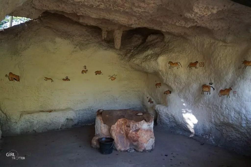 Atelier initiation peinture rupestre - Parc du Thot
