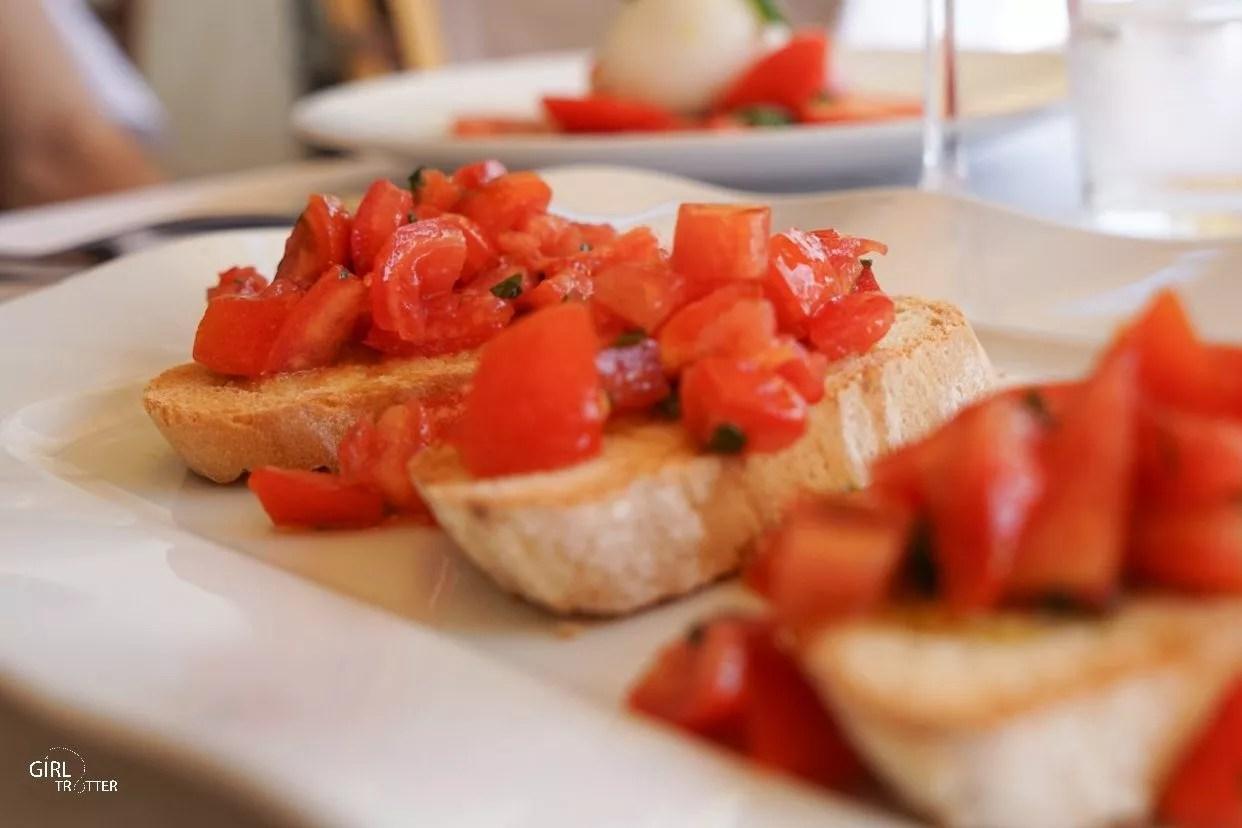 Sienne Siena Italie restaurants avec vue via Camporegio