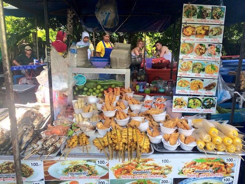 Street eats - 100 baht a meal