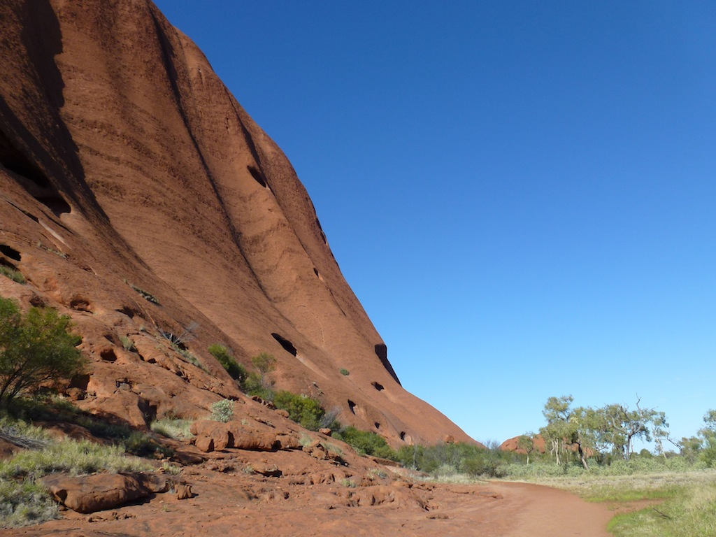 Up close with Uluru