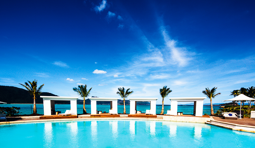 The very sexy pool at One & Only Hayman Island. Image by australiantraveller.com