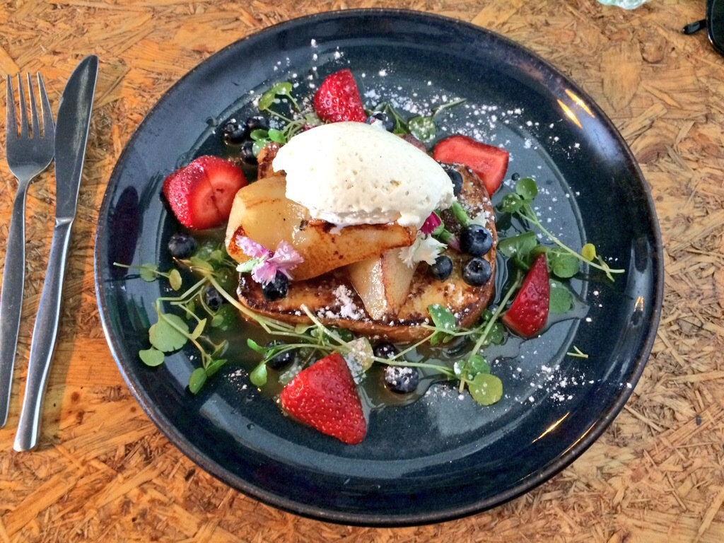 It's all about the Brioche French Toast at Elk Espresso Broadbeach
