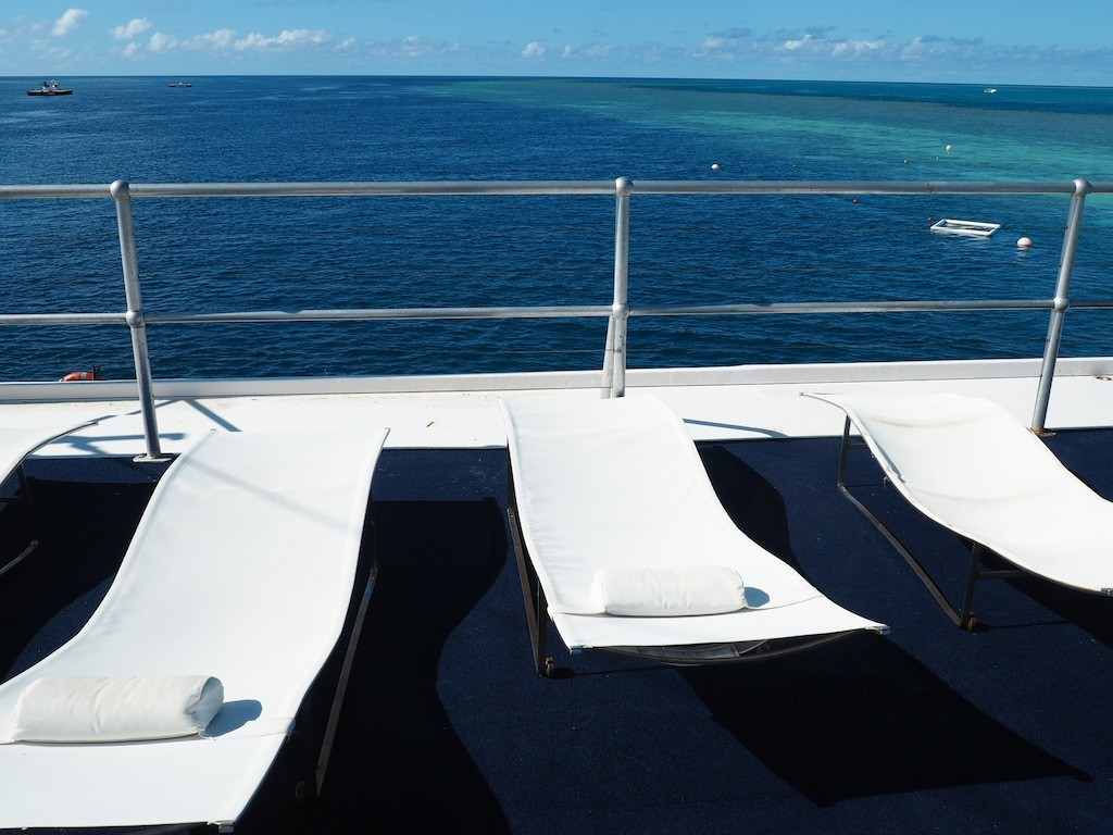 The Sun Deck at Reef World