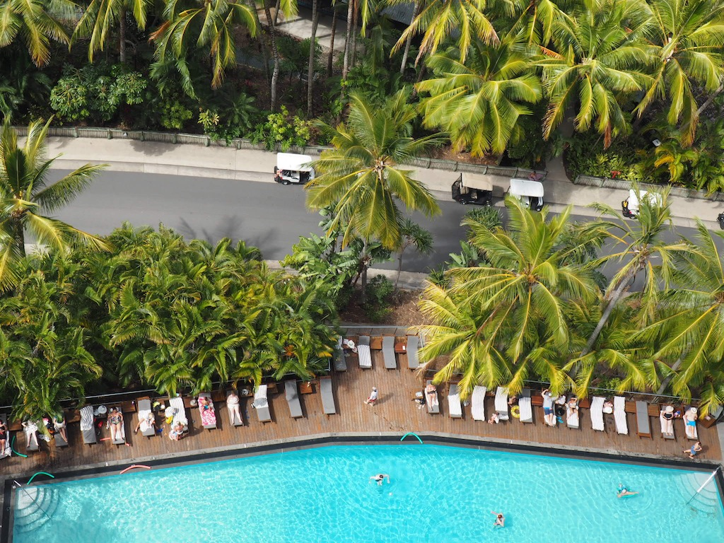 Swimming pool at Reef View Hotel