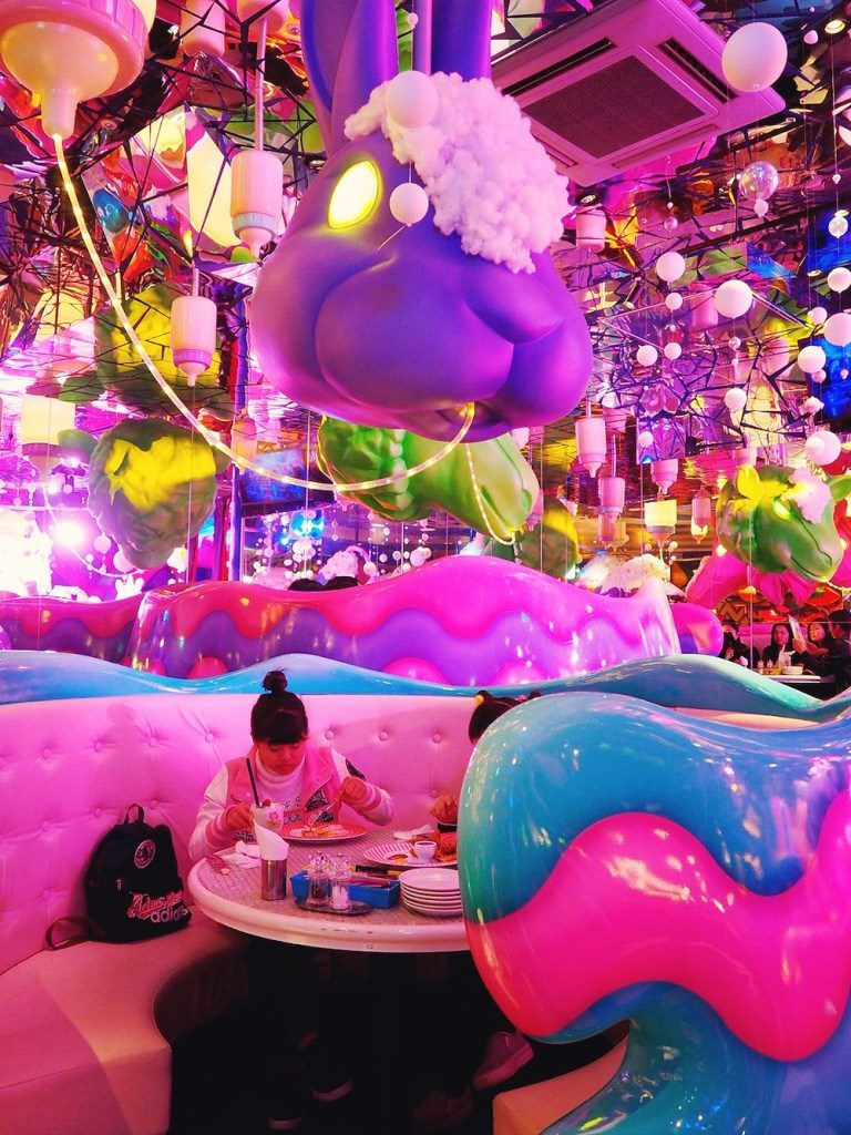 Best table at Kawaii Monster Cafe Tokyo