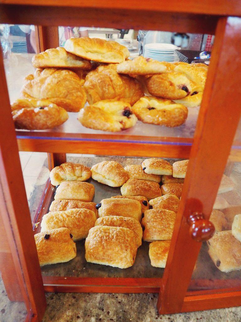 Pastries at Sofitel Fiji